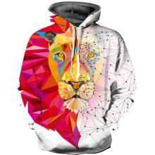 Moletom com capuz de leão mágico