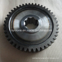 Precision Machined Spur Gear with Boiling Black Treatment