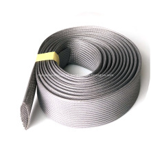 Tubo trançado expandido cinza