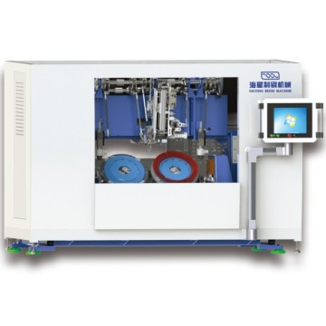 Disc Brush Drilling and Tufting Machine