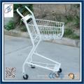 Einkaufskorb mit flexiblen Rädern