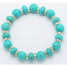 Bracelet de pierres précieuses bijoux ethniques Bracelet Turquoise