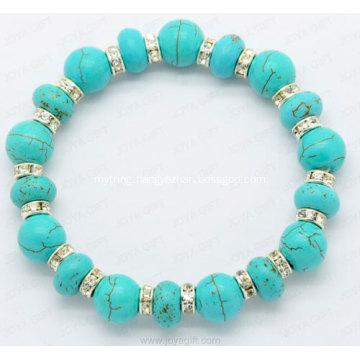 Gemstone Bangle Ethnic Jewelry Fashion Turquoise Bracelet