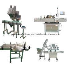 Plastic Bottle Powder Filler and Sealer Production Line /Turnkey