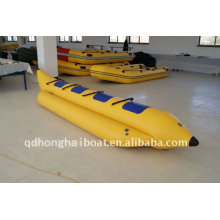 fábrica de doble bote inflable banana barco CE DSB3m - 7m