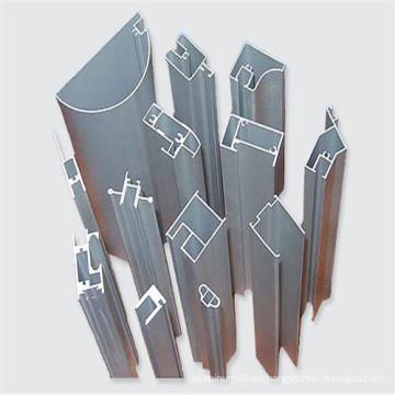 6061 6063 Perfil de aluminio para construcción de ventanas usado