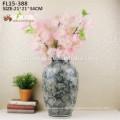 Wholesale factory supplies porcelain ceramic vase flower for home hotel