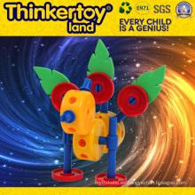 Nuevos juguetes calientes de la venta DIY del animal para los juguetes del bloque hueco del muchacho