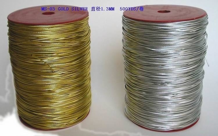 High quality metallic elastic cord