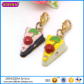 Guangzhou Boosin Metal Alloy Enamel Charms with Lobster Clasp Charms Jewelry