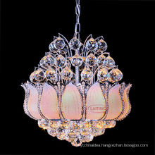 Hot Sale Luxury Hotel Foyer Gold Crystal Small Chandelier