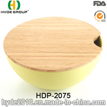 Reusable BPA Free Bamboo Fiber Salad Bowl (HDP-2075)