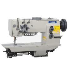 إبرة مزدوجة الثقيلة آلة الخياطة تعمل بالدرزة المتشابكة آلة الخياطة
