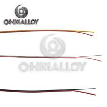 Jpx / Jnx Tipo J Diámetro del cable de extensión de termopar 3.2mm * 2 Sólido