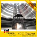 1100 3003 5052 folha de cobertura de liga de alumínio isolada