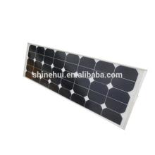 Luz de calle al aire libre de la energía solar 50W, todo en una lámpara de calle llevada solar