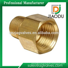 made in china best sale 1/2'' 3/4'' 1'' 2'' NPT Male x NPT Female forged npt brass adapter