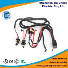 Conjunto de cable y arnés de cableado eléctrico automotriz