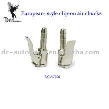 Mandriles de aire con clip tipo europeo;