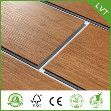 3.0 mm de profundidad en relieve LVT Vinyl Flooring
