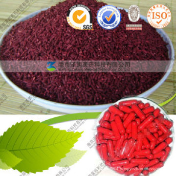 Lower Blood Fat Red Rice Red Pigment 0.4%-3% Monacolin K