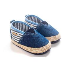 Sapatos de bebê Soft Sole Anti-Slip Prewalker Infantil Criança Loafer