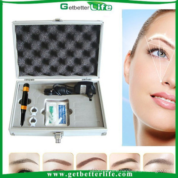 2015 getbetterlife free shipping to US permanent makeup machine kit Pro Tattoo Eyebrow embroidery kit/eyebrow kit