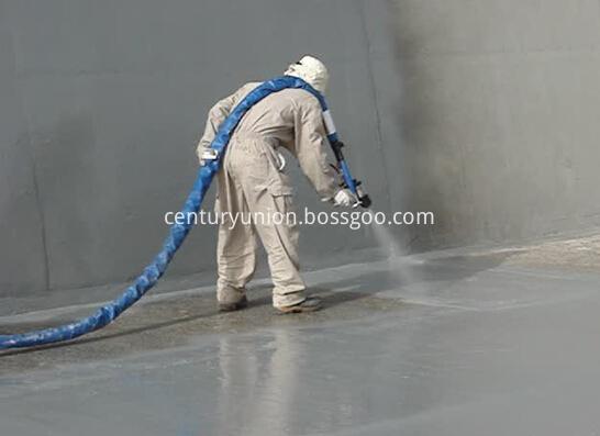 Spray Polyurea Surface Coating 90