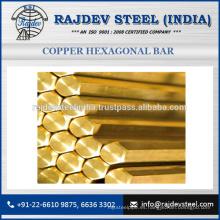 Comprar barra hexagonal de cobre de la mercancía de Reputed para el precio bajo