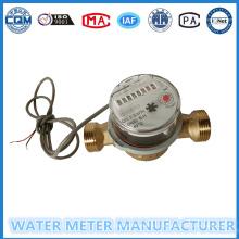 Цифровой измеритель воды с пульсатором в 10л / импульс Dn15 / 20мм