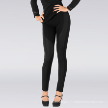 Leggings tricotés Sexy Lady Black Stripe