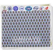 Tissu en maille en polyester tricoté haute qualité pour chaussures