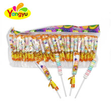 Halal Mixed Fruits Flavor Roll Candy Stick Candy Lollipop
