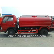 Dongfeng Mini Wasser Pump Truck 4-5CBM Verkauf in Bolvia