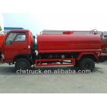 Dongfeng Mini Water Pump Truck 4-5CBM sale in Bolvia