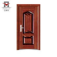 Usine fabriquant des portes de sécurité intérieures en acier de qualité supérieure acceptées