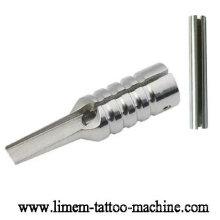 La plus nouvelle poignée de tatouage de tube de Magnum d'acier inoxydable de hotsale