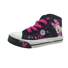 Sapatos de desenho animado Sapatos de bebê Sapatos de crianças Sapatilha (X166-S & B)