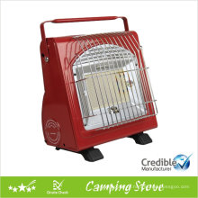 Portable dual functional camping heater