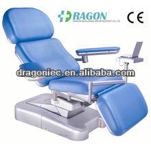 DW-BC001 Mobile médical sang électrique chaise de don de sang chaises médicales