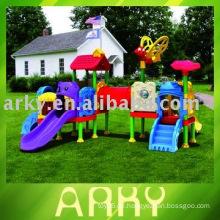 Kinder Outdoor Plastik Spielplatz Ausrüstung