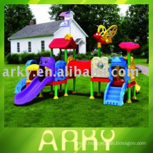 Children's Outdoor Plastic Playground Equipment