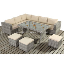 Table Sofa Set for Outdoor with Rattan / SGS (404-1)