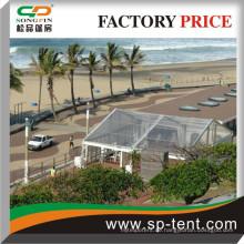 Flamme-Redardierung 10X10M Transparente Kunststoff-PVC-Modulzelte zum Verkauf