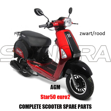 AGM STAR50 SCOOTER KIT CORPS PIECES MOTEUR SCOOTER COMPLET PIECES DE RECHANGE PIECES DETACHEES ORIGINALES