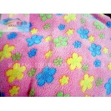 Tecido Plush PV para têxteis-lar 035