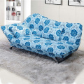 Recliner Headrest Metal Fabric Single Sofa Bed