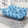 Recliner Headrest Metal Fabric Sofa Bed Tunggal