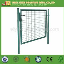 100X100cm Galvanisé + Powder Coated Wire Mesh Garden Gate