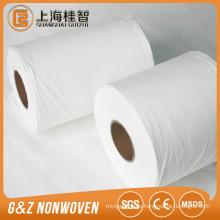 weißer Rayon Polyester Spunlace Vliesstoff für Feuchttücher Rohstoffe